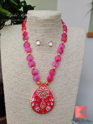 Jaipur pendant necklace